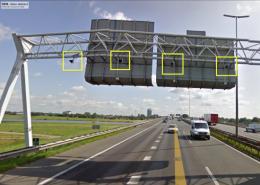 ANPR camera's boven NL-Snelwegen worden gebruikt door de Belastingdienst